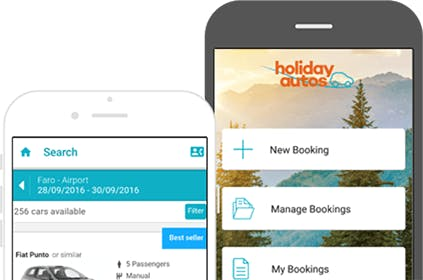 App homepage